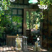 Inspiring outdoor garden wall mirrors ideas 09