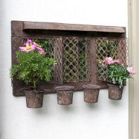 Inspiring outdoor garden wall mirrors ideas 25