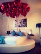 Inspiring valentine bedroom decor ideas for couples 20