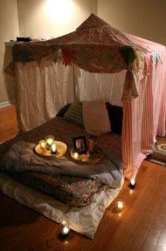 Inspiring valentine bedroom decor ideas for couples 42