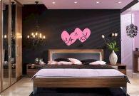 Inspiring valentine bedroom decor ideas for couples 43