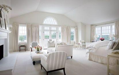 Lovely white bedroom decorating ideas for winter 06