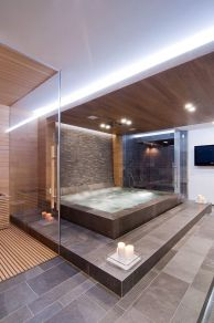 Luxurious bathroom designs ideas that exude luxury 07