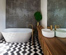 Luxurious bathroom designs ideas that exude luxury 17