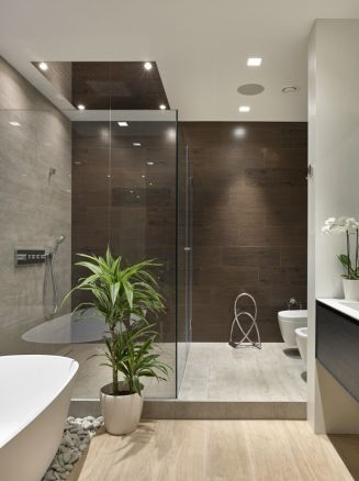 Luxurious bathroom designs ideas that exude luxury 23