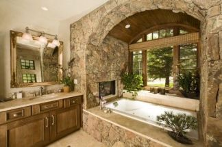 Luxurious bathroom designs ideas that exude luxury 26