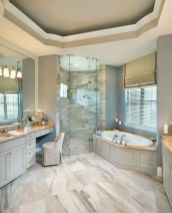 Luxurious bathroom designs ideas that exude luxury 36