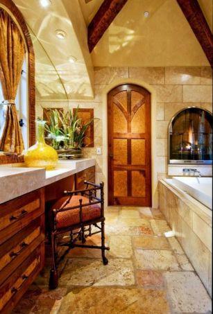 Luxurious bathroom designs ideas that exude luxury 43