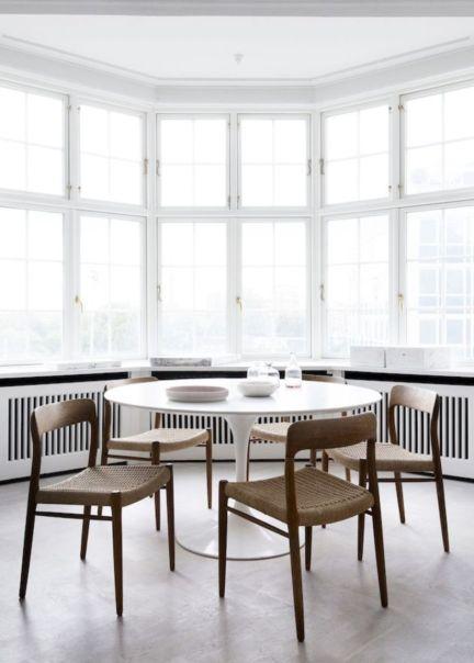 Modern scandinavian dining room chairs design ideas 05