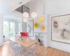 Modern scandinavian dining room chairs design ideas 12