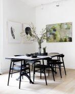 Modern scandinavian dining room chairs design ideas 20