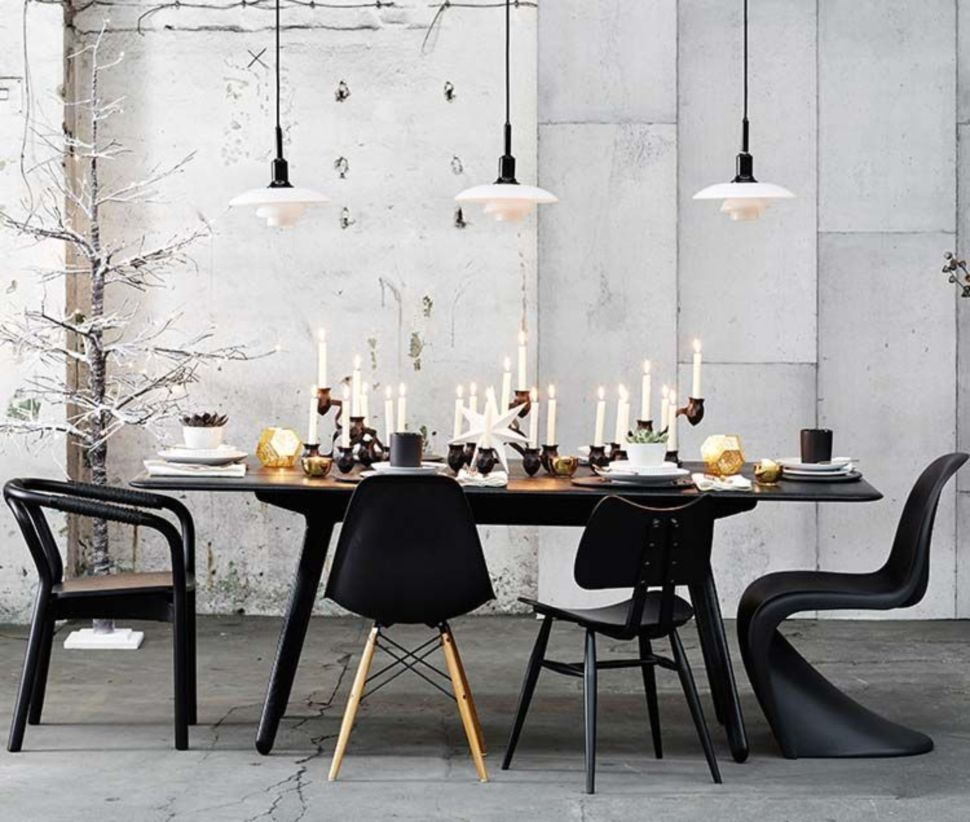 Modern scandinavian dining room chairs design ideas 21