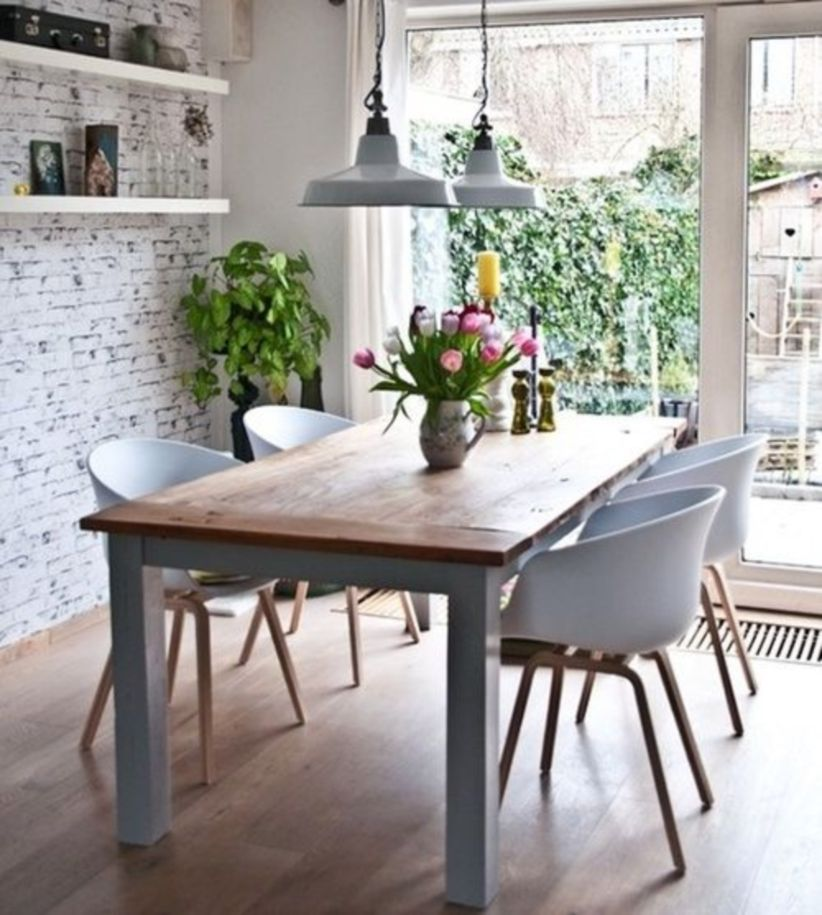 Modern scandinavian dining room chairs design ideas 23