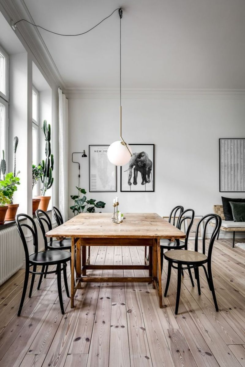Modern scandinavian dining room chairs design ideas 36