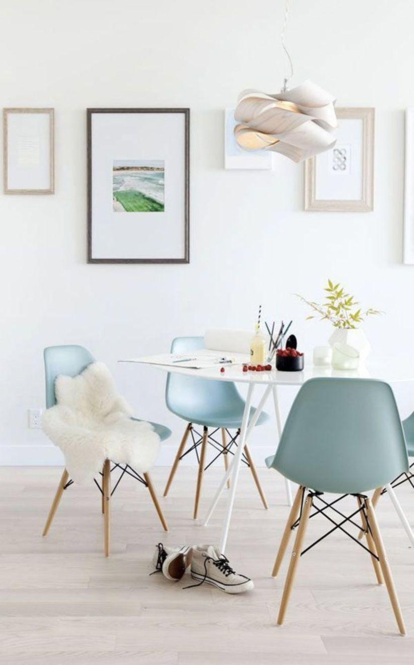 Modern scandinavian dining room chairs design ideas 38