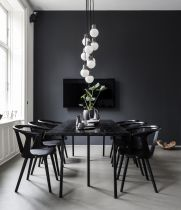 Modern scandinavian dining room chairs design ideas 39