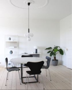 Modern scandinavian dining room chairs design ideas 45
