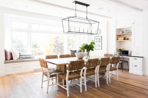 Modern scandinavian dining room chairs design ideas 46