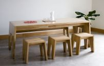 Perfect extandable dining table design ideas 16