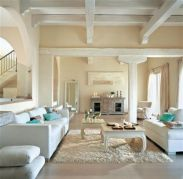 Pretty bedroom designs ideas with exposed wooden beams 21