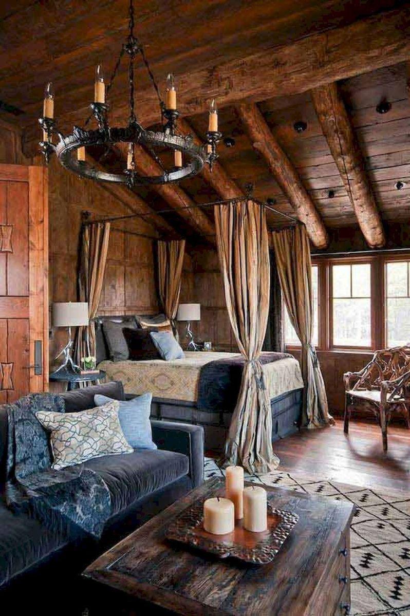 Romantic rustic bedroom ideas 40