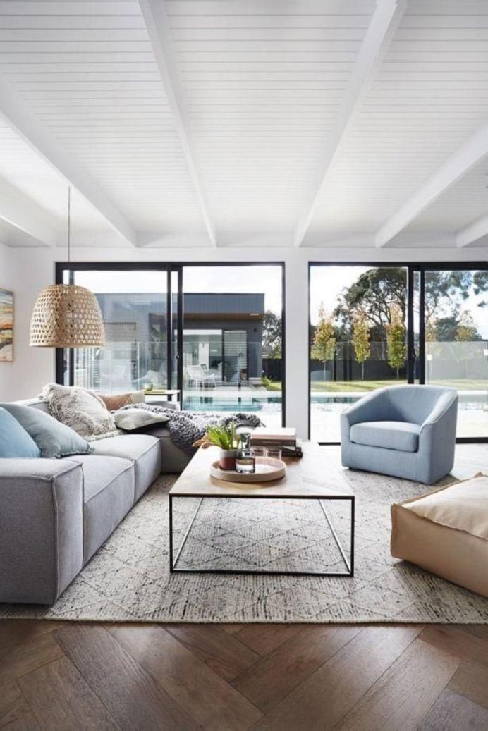 Stylish coastal living room decoration ideas 06