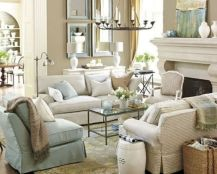 Stylish coastal living room decoration ideas 07