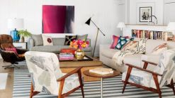 Stylish coastal living room decoration ideas 19