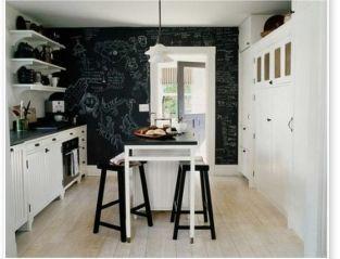 Unique practical chalkboard decor ideas for your kitchen 05
