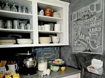 Unique practical chalkboard decor ideas for your kitchen 06