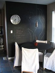 Unique practical chalkboard decor ideas for your kitchen 08
