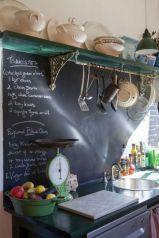 Unique practical chalkboard decor ideas for your kitchen 20
