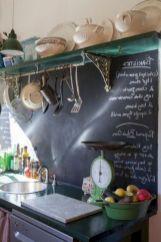 Unique practical chalkboard decor ideas for your kitchen 33