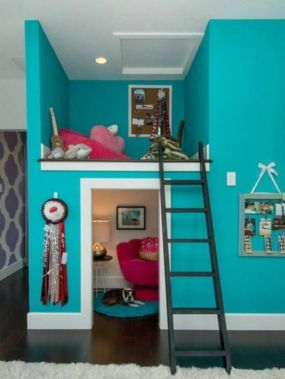 Unordinary space saving design ideas for small kids rooms 04