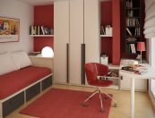 Unordinary space saving design ideas for small kids rooms 07