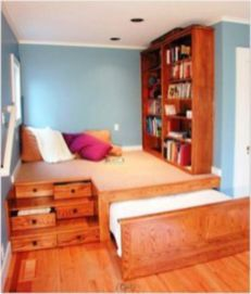 Unordinary space saving design ideas for small kids rooms 21
