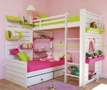 Unordinary space saving design ideas for small kids rooms 26