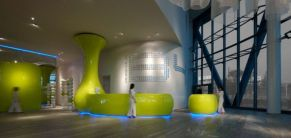 Wonderful office architecture building ideas for inspiration 39