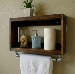 Simple bathroom storage ideas 14