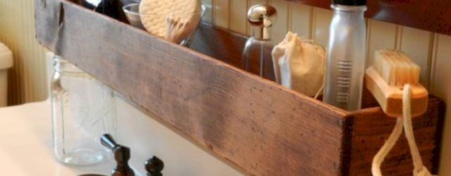 Simple bathroom storage ideas 16