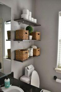 Simple bathroom storage ideas 19
