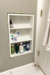 Simple bathroom storage ideas 21