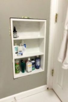 Simple bathroom storage ideas 21