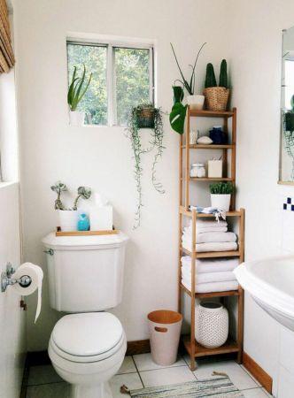 Simple bathroom storage ideas 27