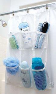 Simple bathroom storage ideas 30