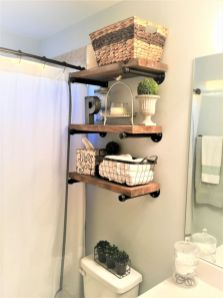 Simple bathroom storage ideas 34