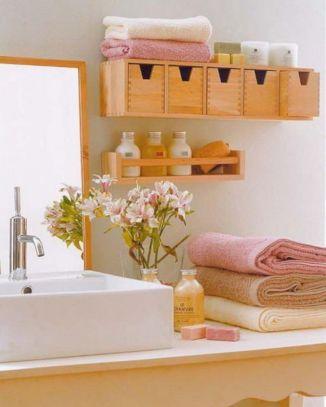 Simple bathroom storage ideas 40