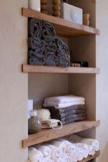 Simple bathroom storage ideas 44