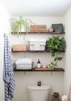 Simple bathroom storage ideas 45