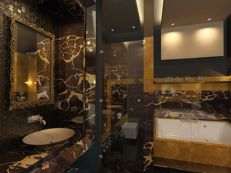 Affordable bathroom design ideas for apartment 05